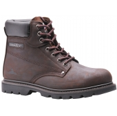 Steelite Goodyear Welt Safety Boot Brown