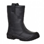 Portwest FW29 Black Steelite Rigger Boot Scuff Cap S3