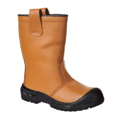 Steelite Rigger Boot Scuff Cap Tan