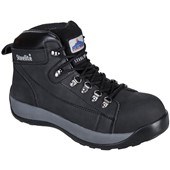 Steelite Mid Cut Nubuck Safety Boot Black