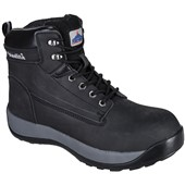 Portwest FW32 Black Steelite Constructo Nubuck Safety Boot S3