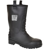 Portwest FW75 Black Steelite Waterproof Neptune Safety Rigger Boot S5