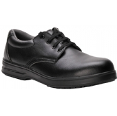 Steelite Microfibre Laced Safety Shoe Black