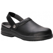 Steelite Microfibre Safety Clog Black