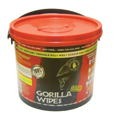 Waterless Hand Towels - Gorilla Wipes