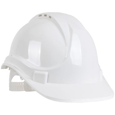 BlackRock Safety Helmet - Vented - Slip Ratchet - Standard Peak