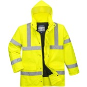 Portwest High Visibility Padded Jacket Yellow