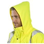 Portwest S460 Superior Padded Yellow Hi Vis Traffic Jacket