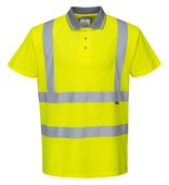 Portwest High Visibility Polo Shirt Yellow