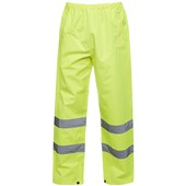 Uneek UC807 Yellow Hi Vis Waterproof Trousers