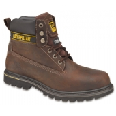 Caterpillar Holton Safety Boot Brown