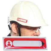 Portwest ID12 Medical Information Contact Hard Hat ID Holder