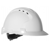 JSP EVO8 Safety Helmet - Vented - Wheel Ratchet - Standard Peak