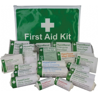 Wallet HSE Compliant 1-10 Person First Aid Kit