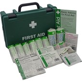 Standard HSE Compliant 1-10 Person First Aid Kit