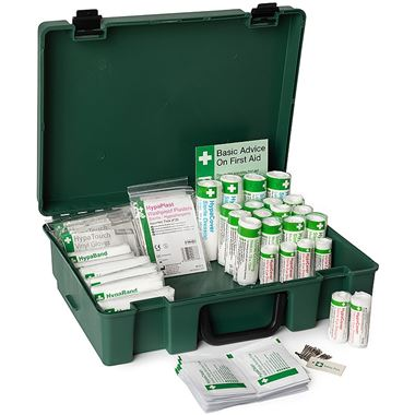 Standard HSE Compliant 21-50 Person First Aid Kit
