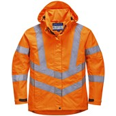 Portwest LW70 Ladies High Visibility Breathable Jacket Orange
