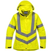 Portwest LW70 Ladies High Visibility Breathable Jacket Yellow