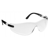 JSP M9600 Contour Clear Safety Glasses ASA738-161-100 - Anti Scratch Hardia Lens