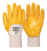 Nitrile Light Knitwrist Glove - Nitrile Coating