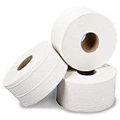 Value Mini Jumbo Toilet Rolls (Pack 12)