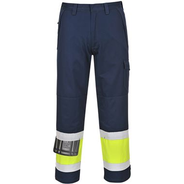 Modaflame Hi Vis Inherently Flame Resistant Anti-Static Trousers