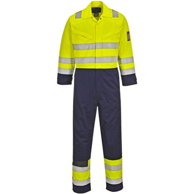 Modaflame Hi Vis Inherently Flame Resistant Anti-Static Coveralls