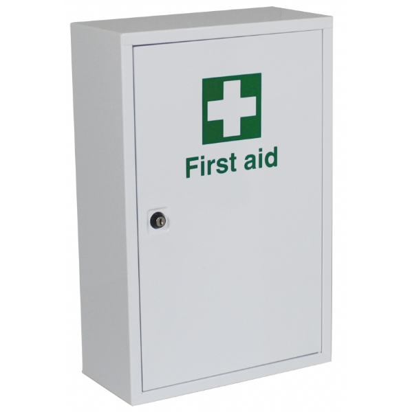 first aid wall cabinet empty safetec direct ltd. Black Bedroom Furniture Sets. Home Design Ideas