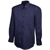 Uneek UC701 Mens Long Sleeve Pinpoint Oxford Shirt