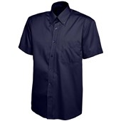 Mens Short Sleeve Pinpoint Oxford Shirt