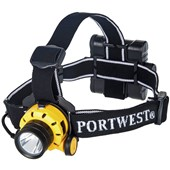 Portwest PA64 Ultra Power Head Torch - 500 Lumens