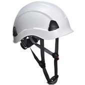 Portwest PS53 Height Endurance Safety Helmet - Non Vented - Wheel Ratchet - Short Peak