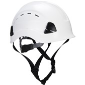 Portwest PS73 Working At Height Endurance Mountaineer Safety Helmet - Vented Wheel Ratchet Short Peak