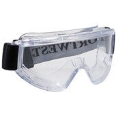 Portwest PW22 Challenger Safety Goggle - Clear Scratch Resistant Lens