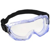 Portwest PW24 Ultra Vista Safety Goggle - Anti Mist & Anti Scratch Lens