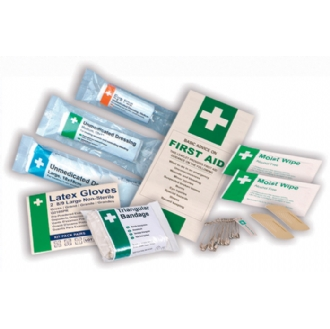 Refill Kit - For British Standard Travel First Aid Kit
