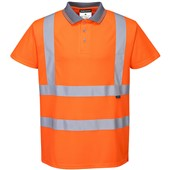 Portwest RT22 Orange Hi Vis Polo Shirt