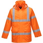 High Visibility Lite Mesh Lined Jacket Orange