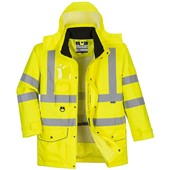 Portwest S427 Yellow Hi Vis 7-in-1 Breathable Jacket