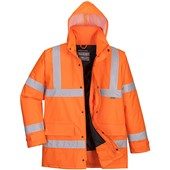 Portwest High Visibility Padded Jacket GO/RT Orange