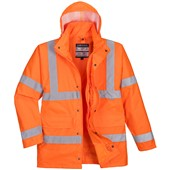 Portwest High Visibility 4-in-1 Jacket GO/RT Orange