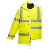 Portwest S468 Yellow Hi Vis 4-in-1 Jacket