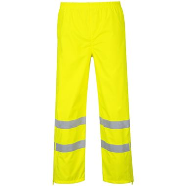 Portwest High Visibility Breathable Waterproof Trouser Yellow
