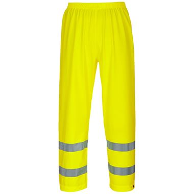 Portwest S493 Yellow Sealtex Ultra Hi Vis Breathable Waterproof Trousers