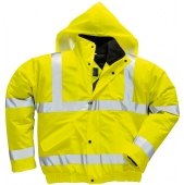Portwest S498 Yellow Sealtex Ultra Hi Vis Bomber Jacket