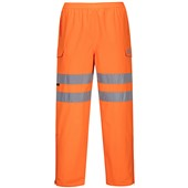 Portwest S597 Orange Hi-vis Extreme Waterproof & Breathable Trousers