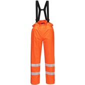 Bizflame High Visibility Flame Retardant Anti-Static Trousers GO/RT Orange