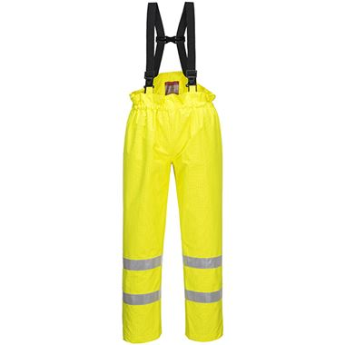 Bizflame High Visibility Flame Retardant Anti-Static Trousers Yellow