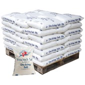 White De-Icing Salt 25kg - Pallet of 7 Bags