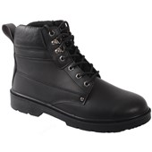 Smooth Leather Safety Boot